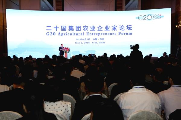 创新 合作 推动农业可持续投资与贸易——二十国集团首届农业企业家论坛在西安成功举办