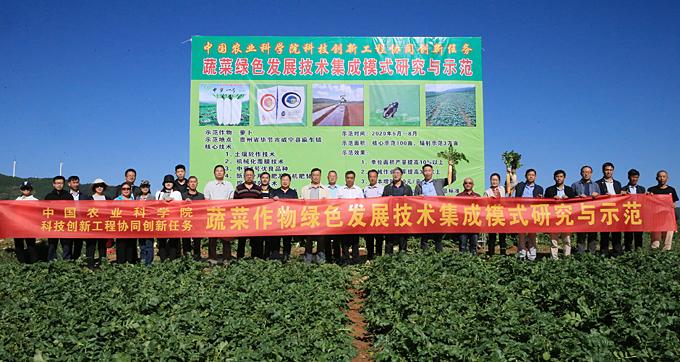《【奇亿娱乐主管】蔬菜绿色发展技术集成模式节本增效40%以上》