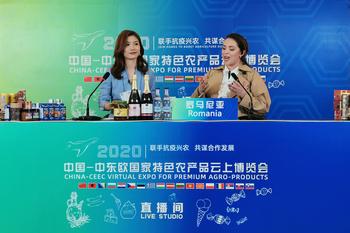 《【奇亿娱乐主管】中国-中东欧国家特色农产品云上博览会开幕》