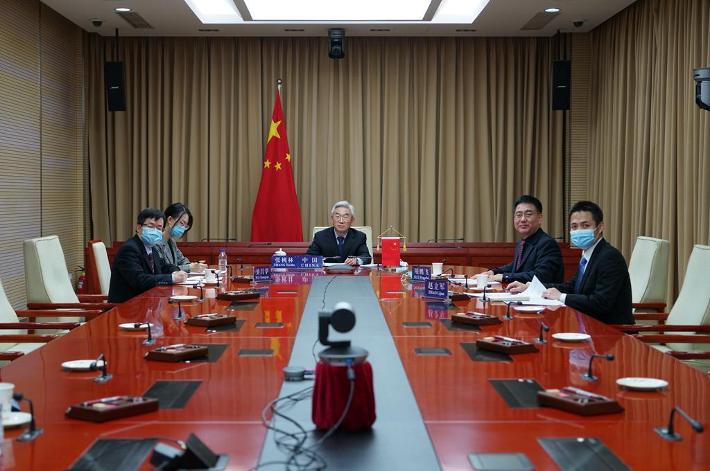 《【奇亿娱乐网站】张桃林出席第13届柏林农业部长峰会视频会》