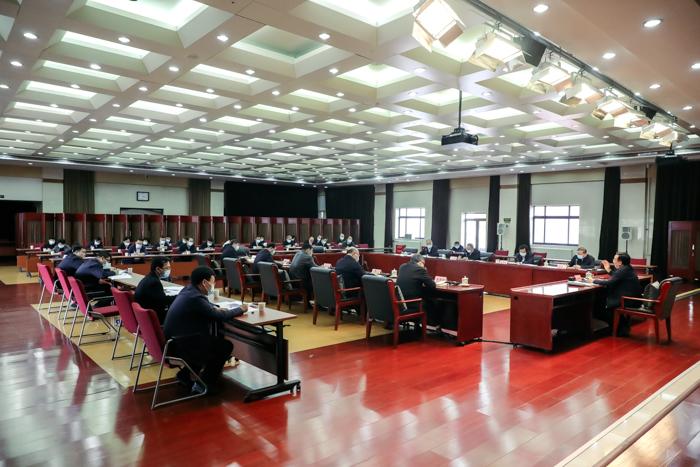 农业农村部党组召开会议强调强化内部巡视 提升巡视质量 为农业农村高质量发展提供坚强政治保障