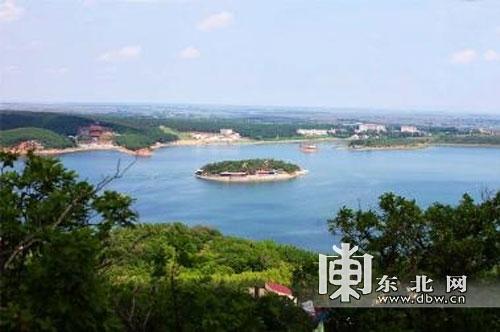 宾县二龙山风景区.